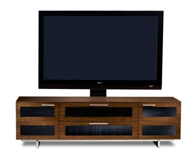 BDi Avion TV Console in Chocolate Stained Walnut