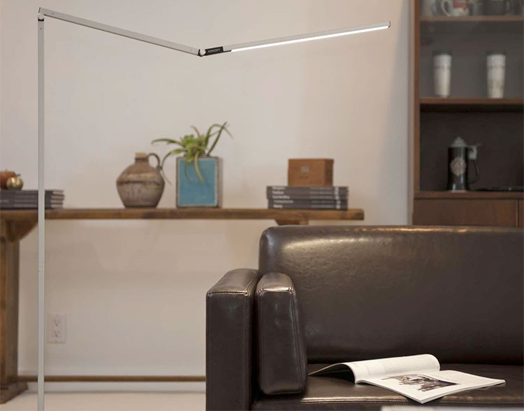 Koncept Z-Bar LED Floor Lamp