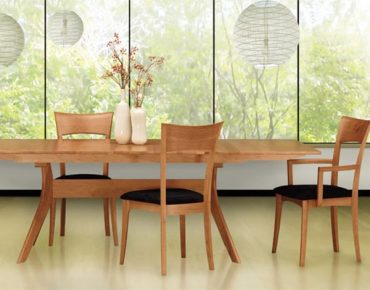Copeland Contemporary Audrey Dining Room Natural Cherry