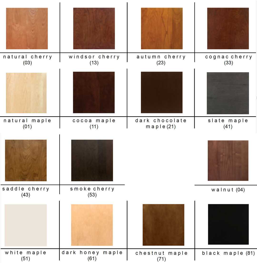 Copeland Moduluxe Bedroom Finishes