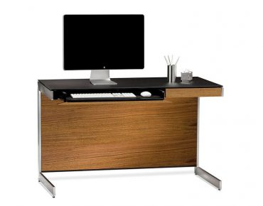 BDi Sequel Compact Desk in Natural Walnut