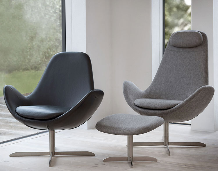 Theca Ghost Modern Armchair