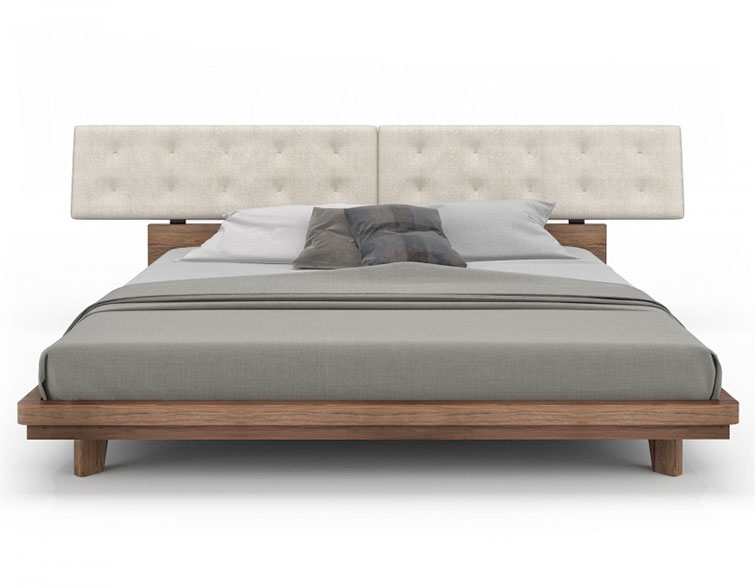 Nelson Contemporary Bedroom Bed