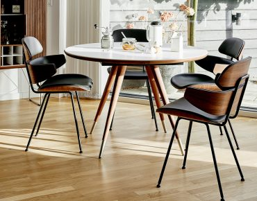 Naver Edge Round Dining Table